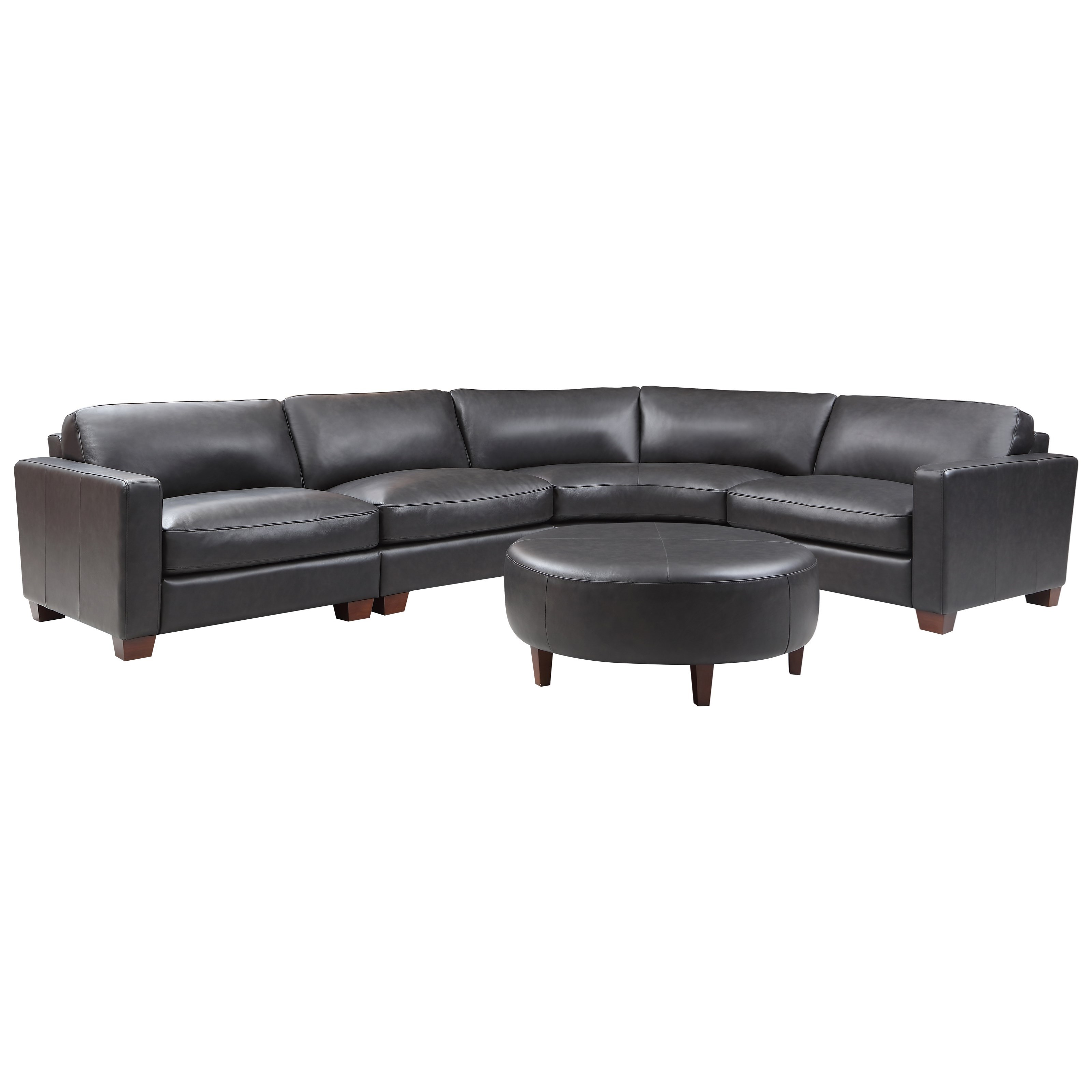 Brent Sectional with Ottoman by Vendor 1919 at Becker Furniture