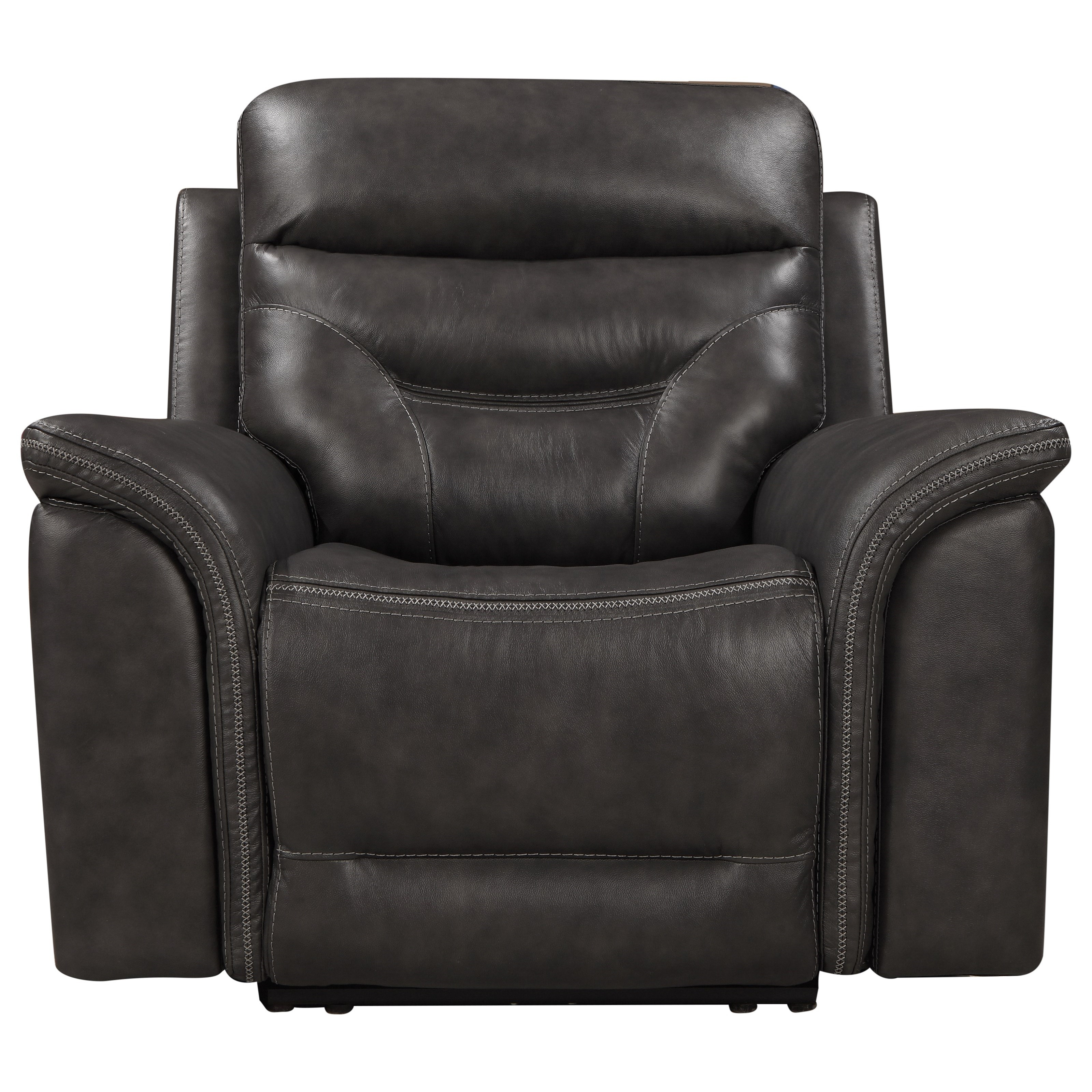 Bullard Power Recliner by Leather Italia USA at Darvin Furniture