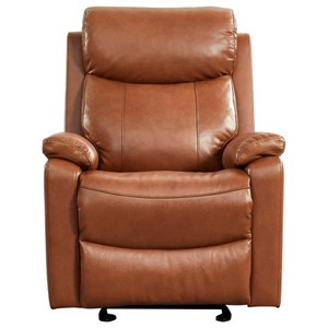 Casual Leather Glide Reclining Chair
