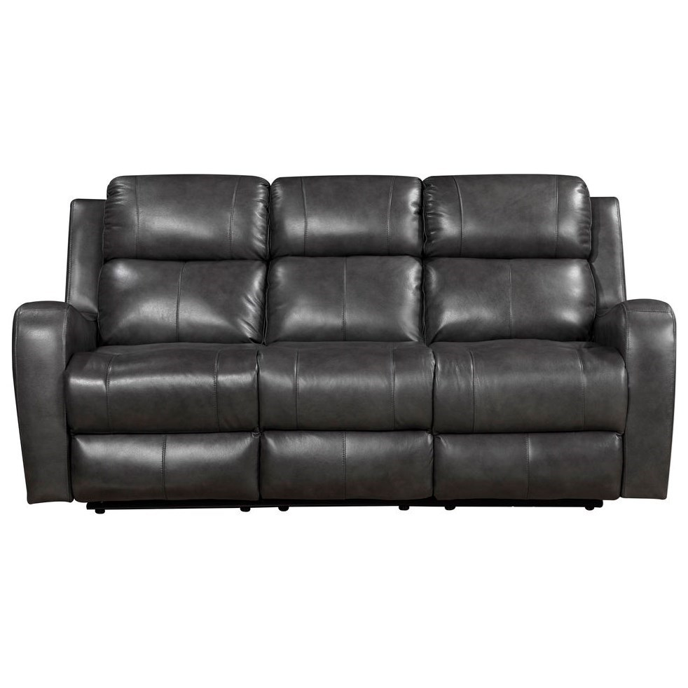 Cortana  Power Reclining Leather Sofa by Leather Italia USA at Darvin Furniture