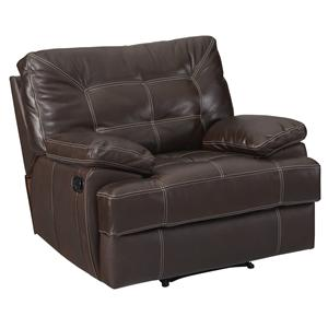 Leather Italia USA Dalton Recliner