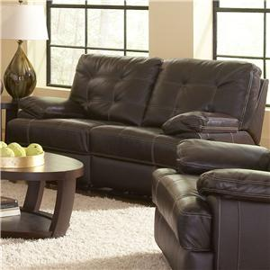 Leather Italia USA Dalton Reclining Loveseat
