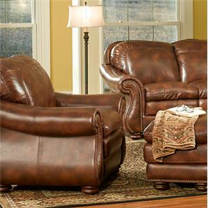 Leather Italia USA Duplin Chair