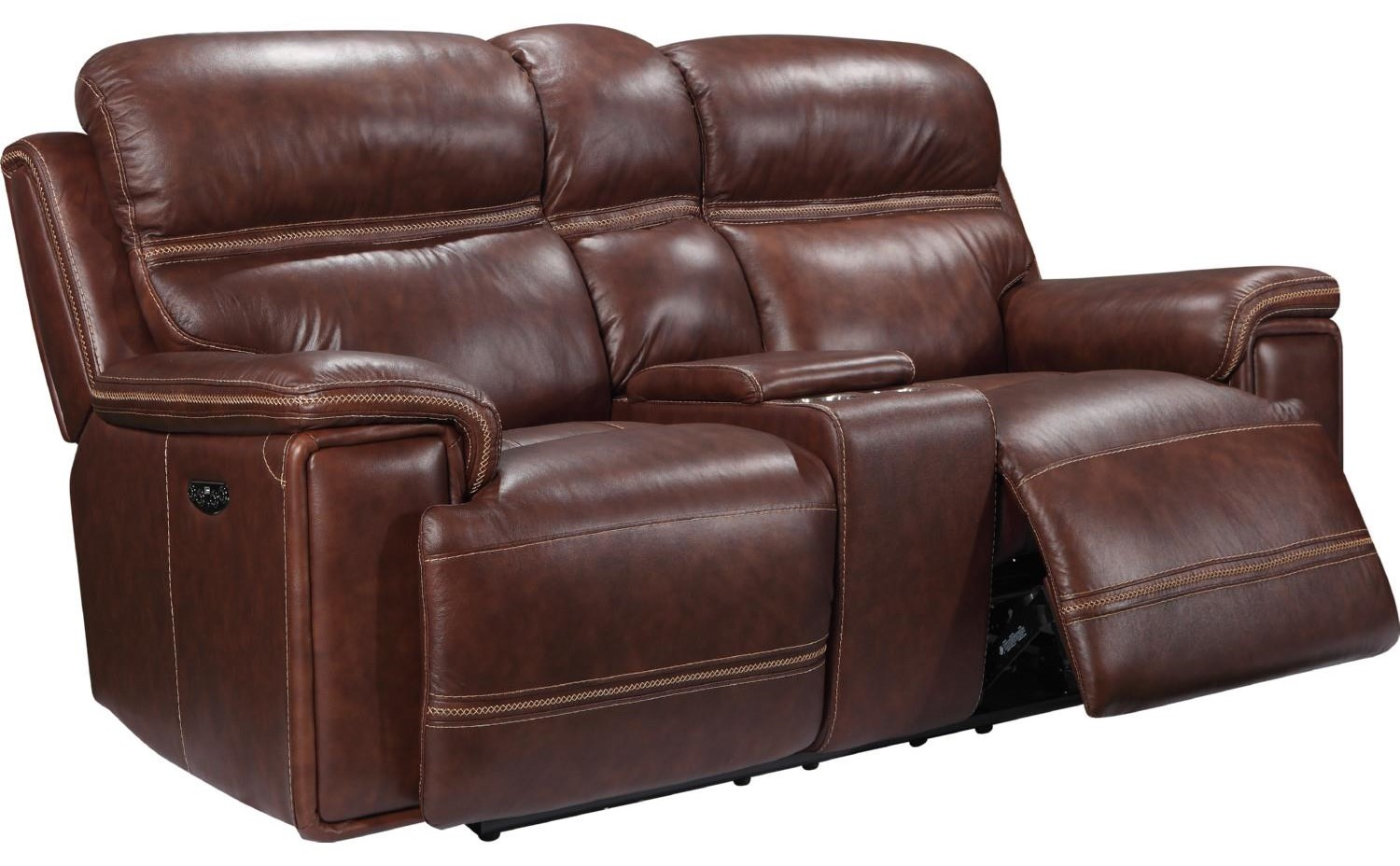 EH2394-02 Leather by Benini Leather at Bennett's Furniture and Mattresses