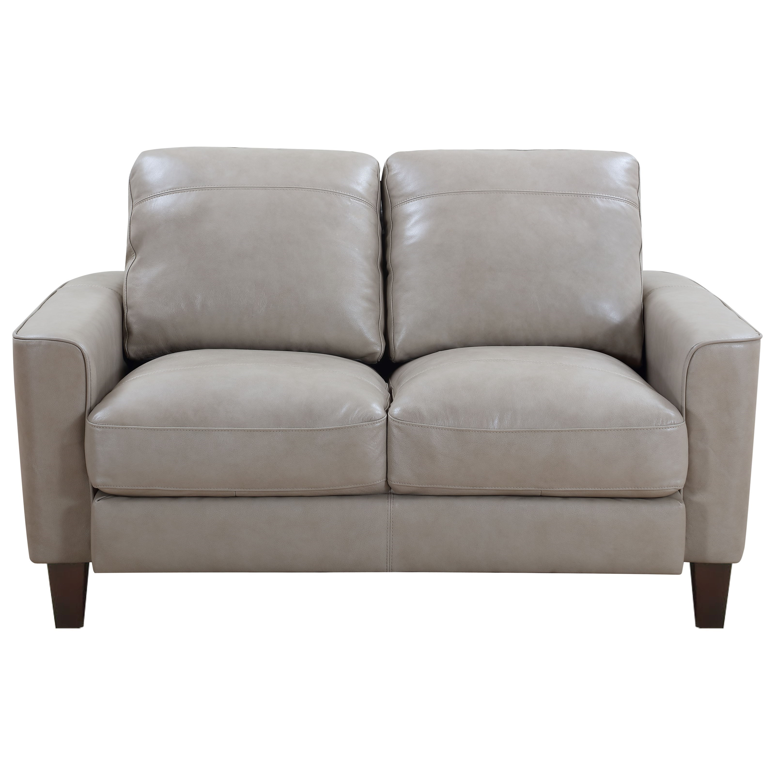 Chino Leather Loveseat at Rotmans