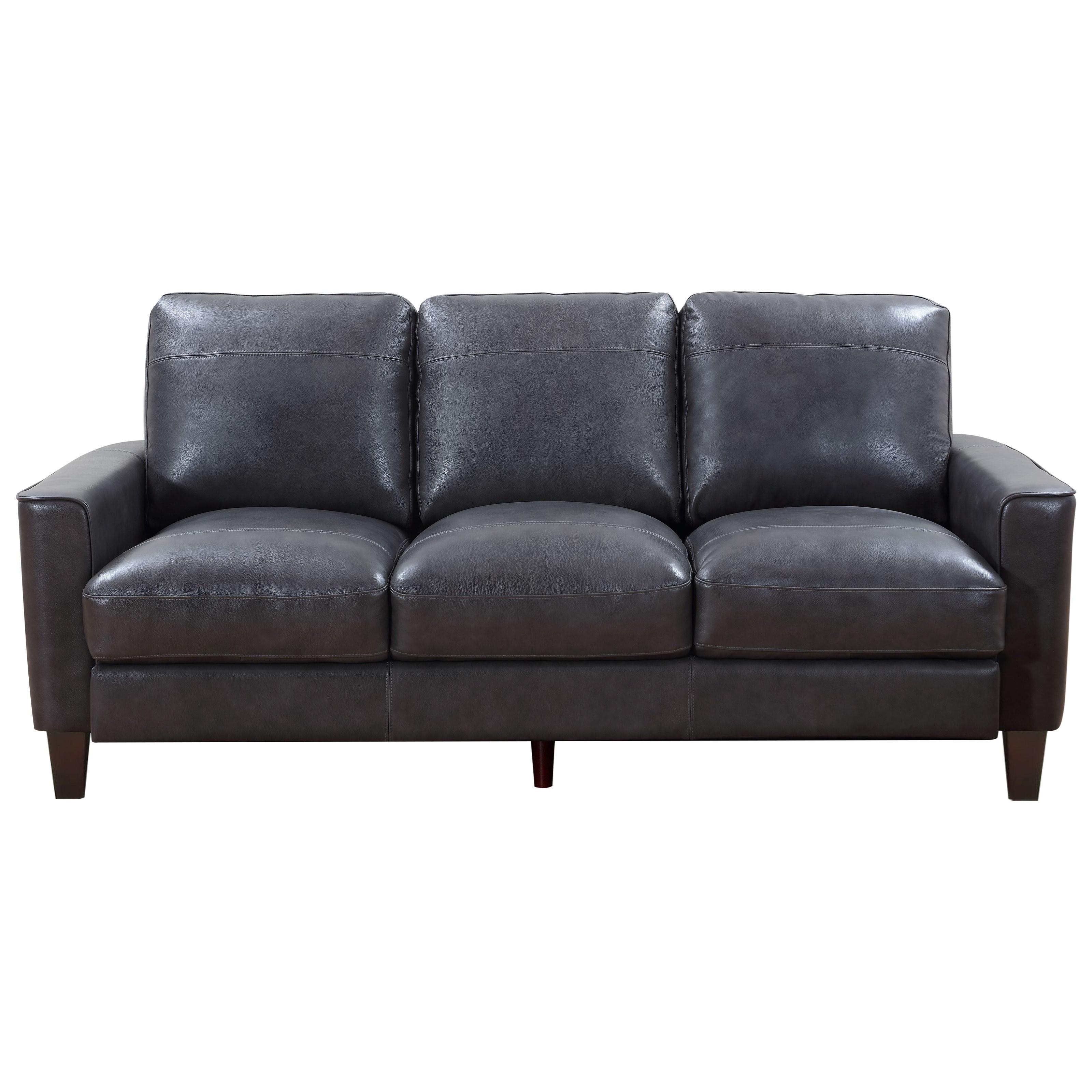Georgetown - Chino Sofa by Leather Italia USA at Corner Furniture