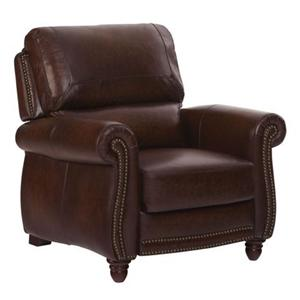 Leather Italia USA James Pressback Recliner