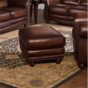 Leather Italia USA James Ottoman