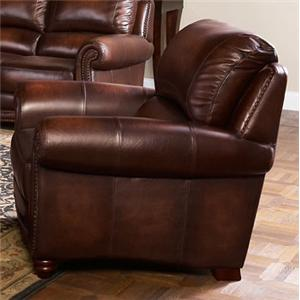 Leather Italia USA James Chair