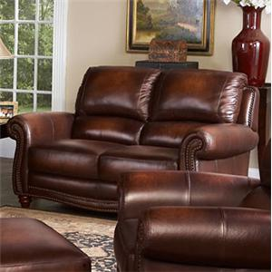 Leather Italia USA James Loveseat