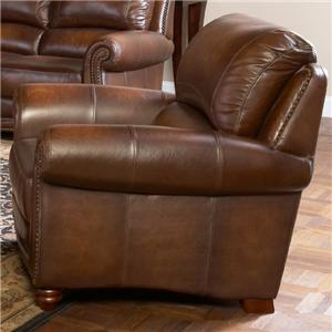 Leather Italia USA Parker Upholstered Chair