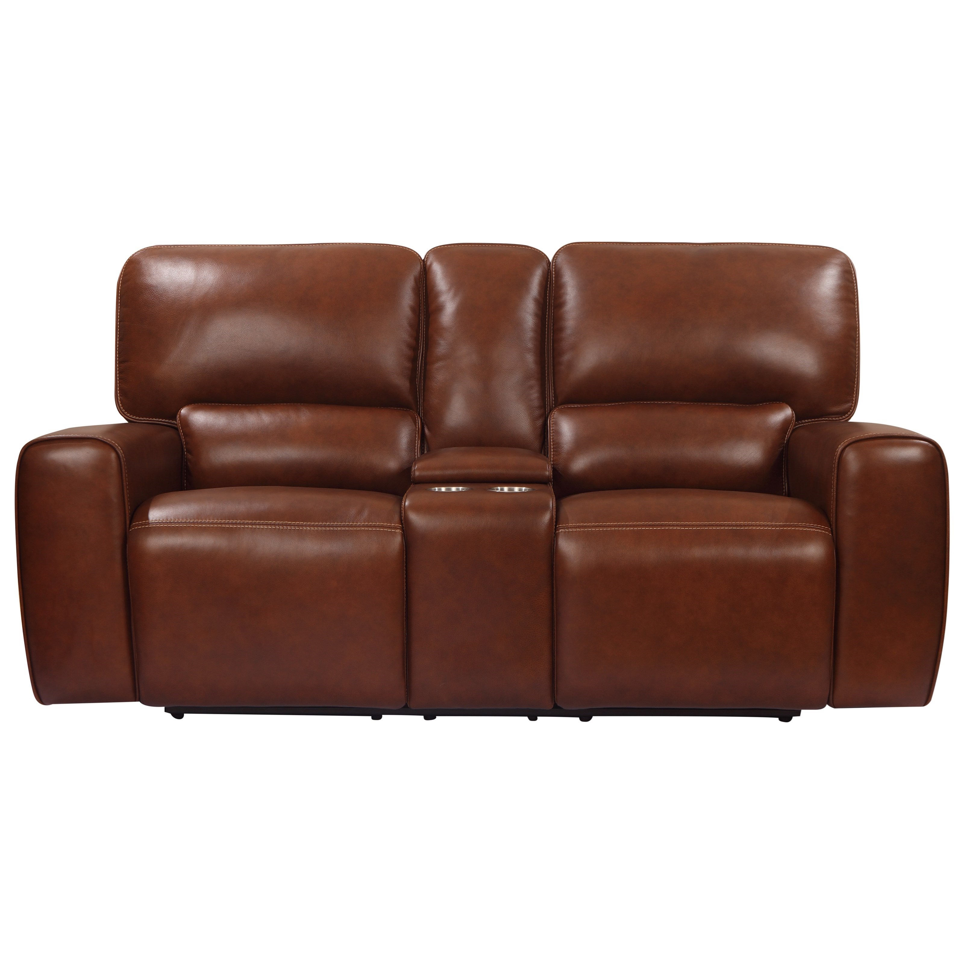 Broadway Power Reclining Console Loveseat at Rotmans