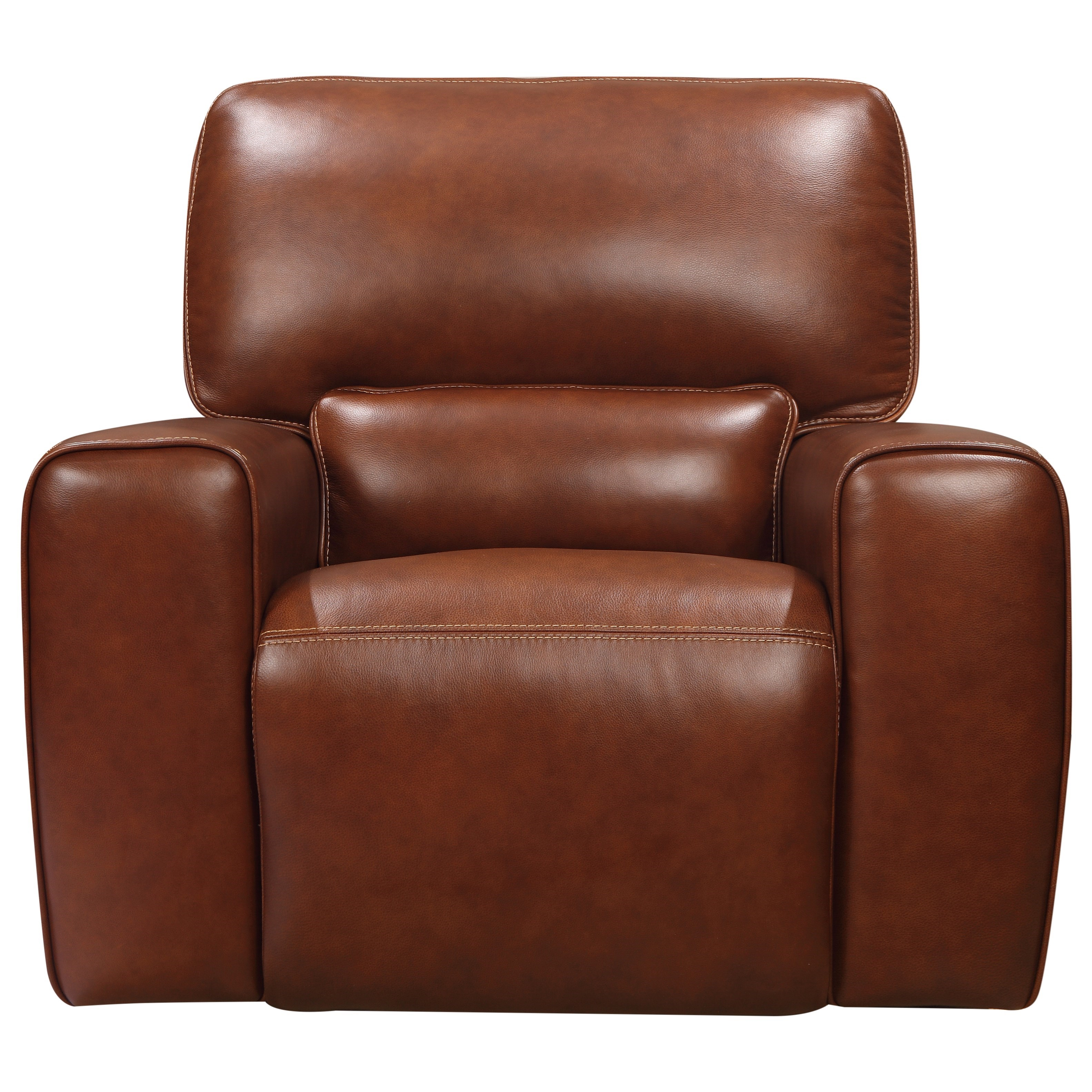 Broadway Power Glider Recliner by Leather Italia USA at Home Furnishings Direct