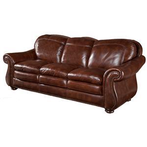 Leather Italia USA Stationary Sofas Hanover Sofa
