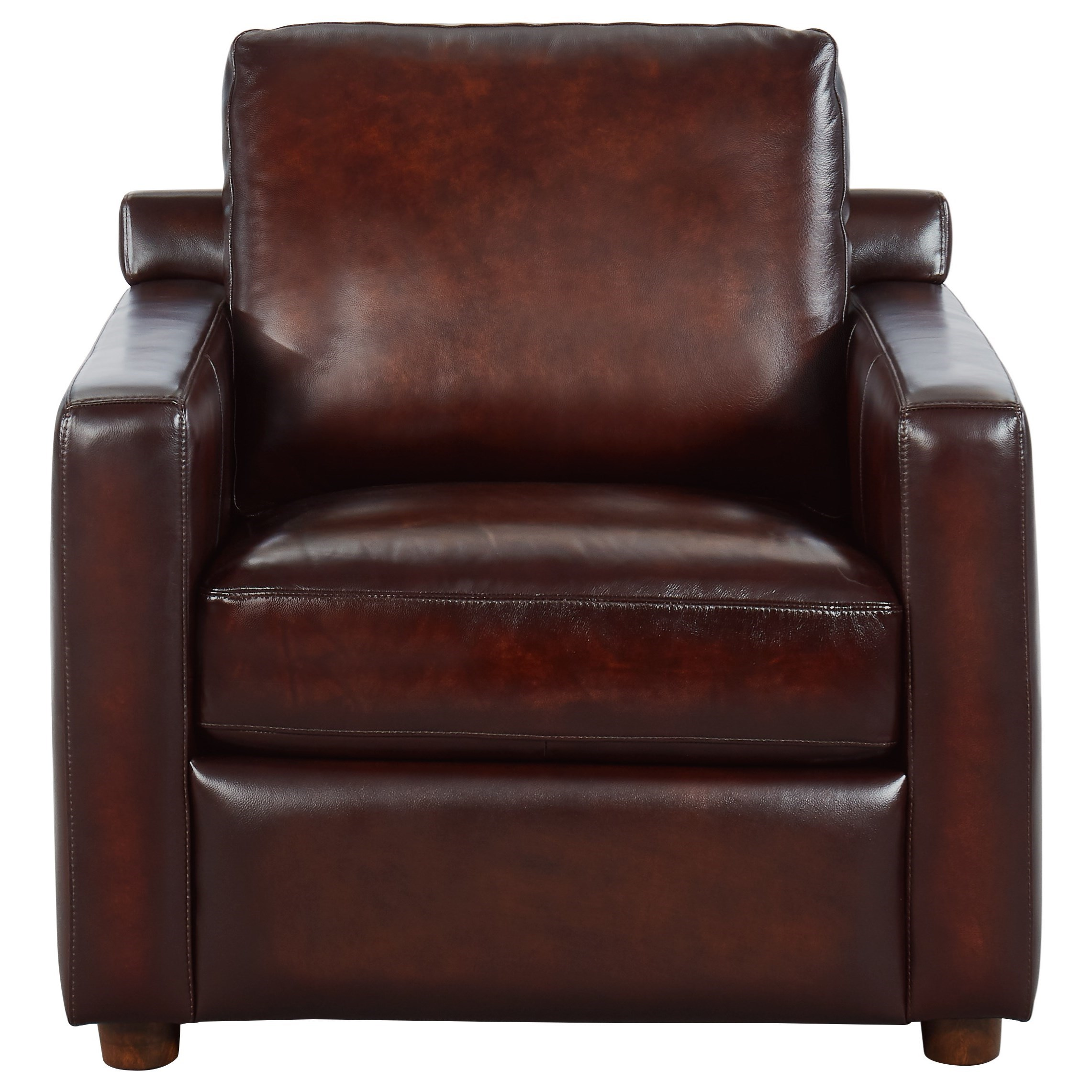 Stockton Leather Chair at Rotmans