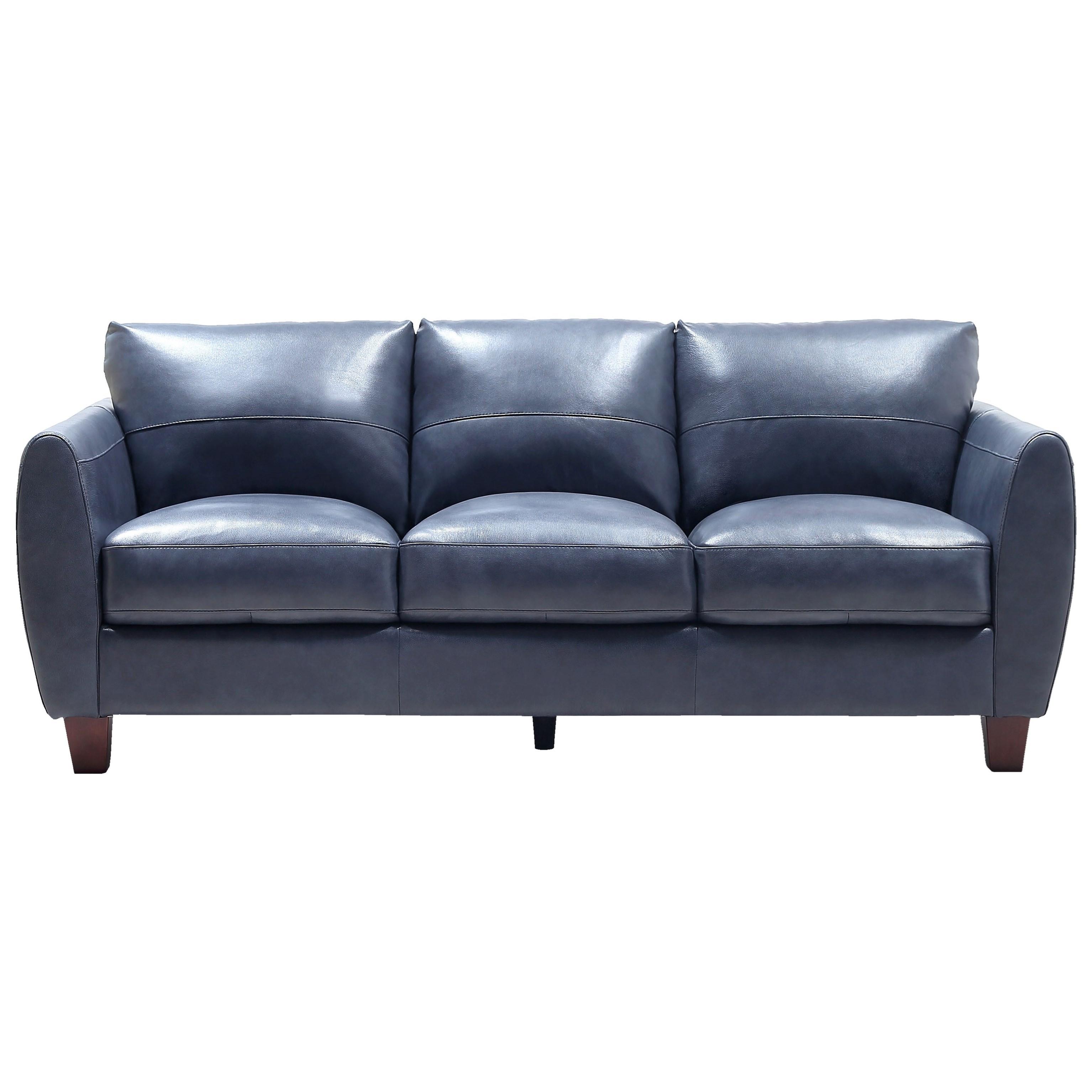 Traverse Sofa by Leather Italia USA at Johnny Janosik