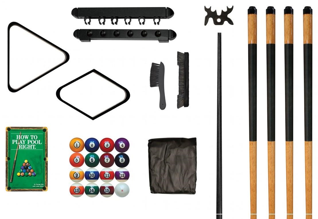 Game Room Accessories Deluxe Pool Table Kit by Legacy Billiards at Northeast Factory Direct