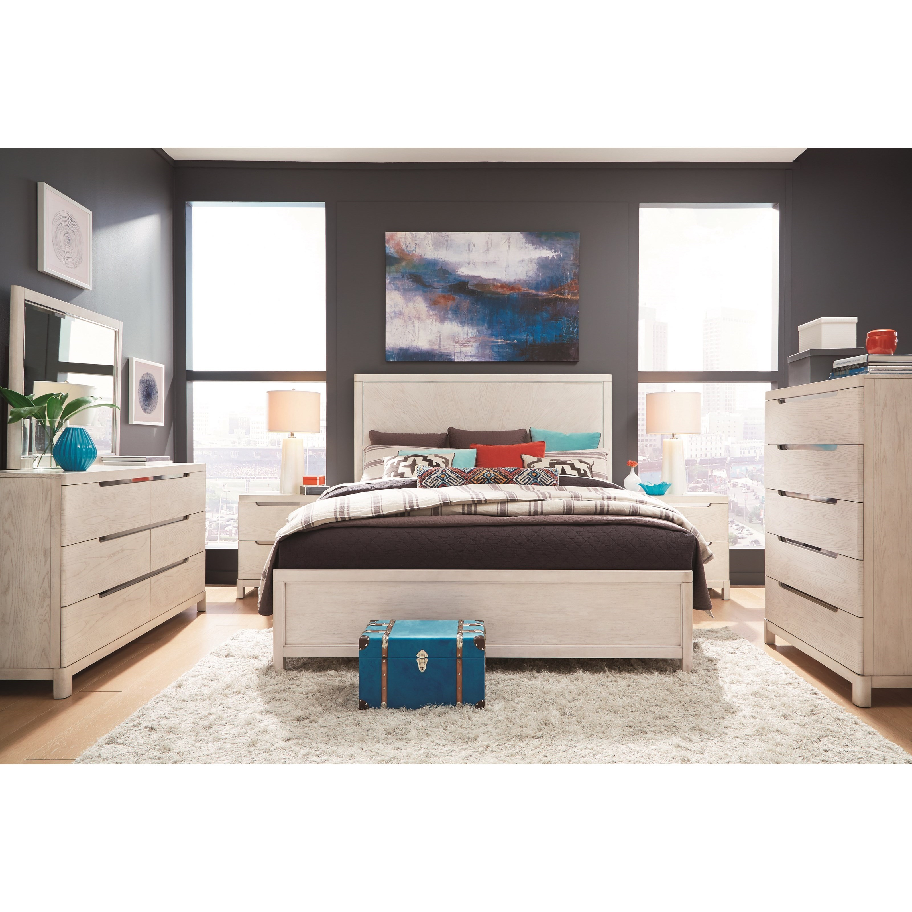 11 West Queen Storage Bedroom Group by Legacy Classic at Lindy's Furniture Company