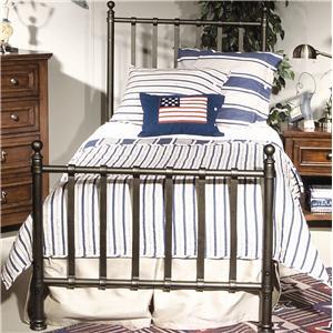 Legacy Classic Kids American Spirit Twin Metal Bed