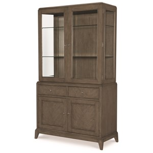 China Cabinet with 3-Way Touch Lighting