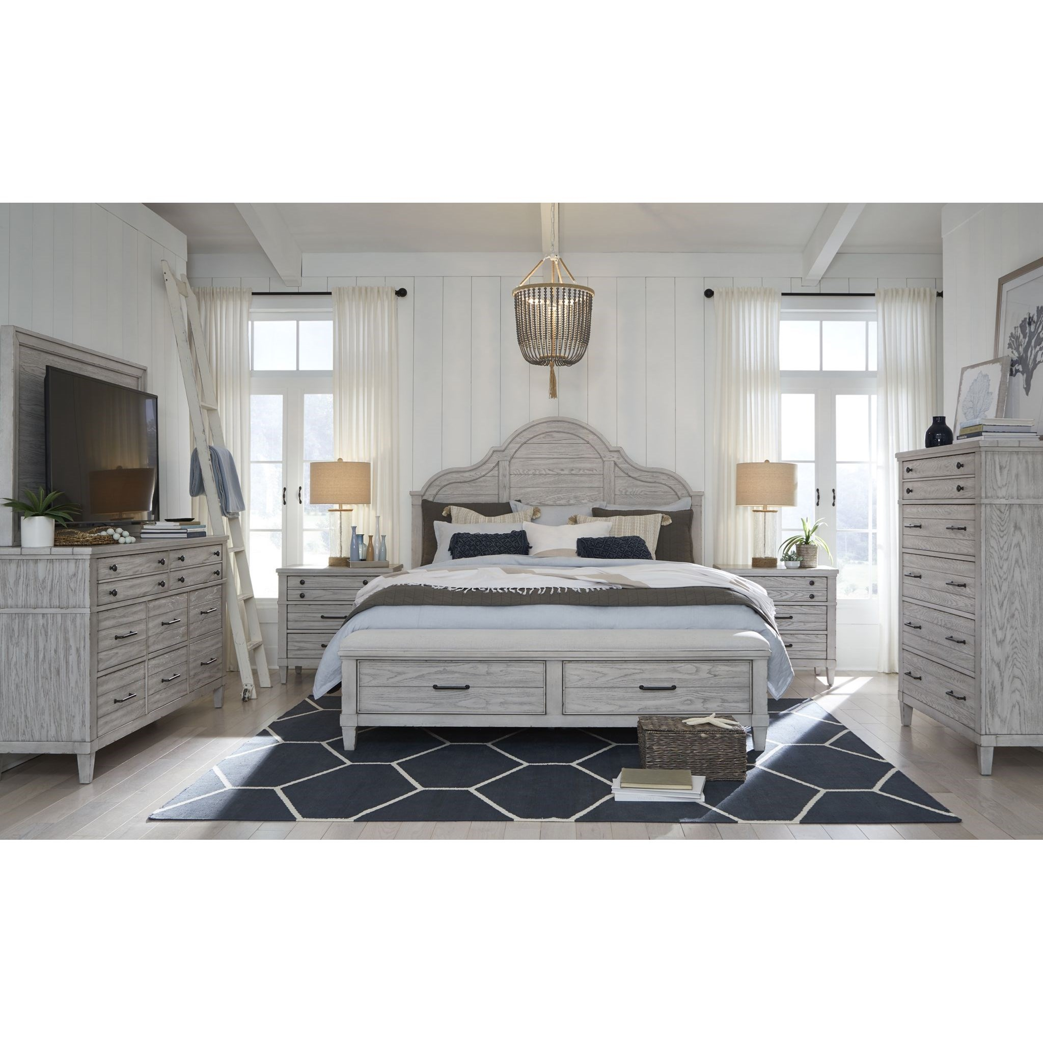 Belhaven California King Bedroom Group by Legacy Classic at Dunk & Bright Furniture
