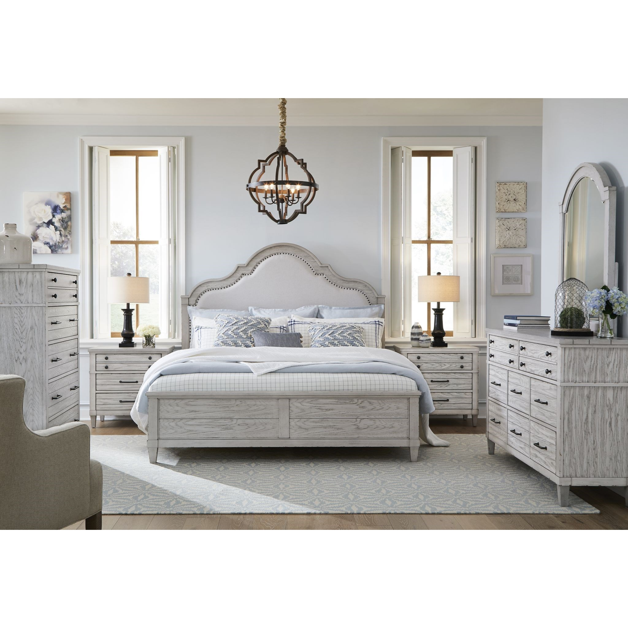 Belhaven King Bedroom Group by Legacy Classic at Mueller Furniture