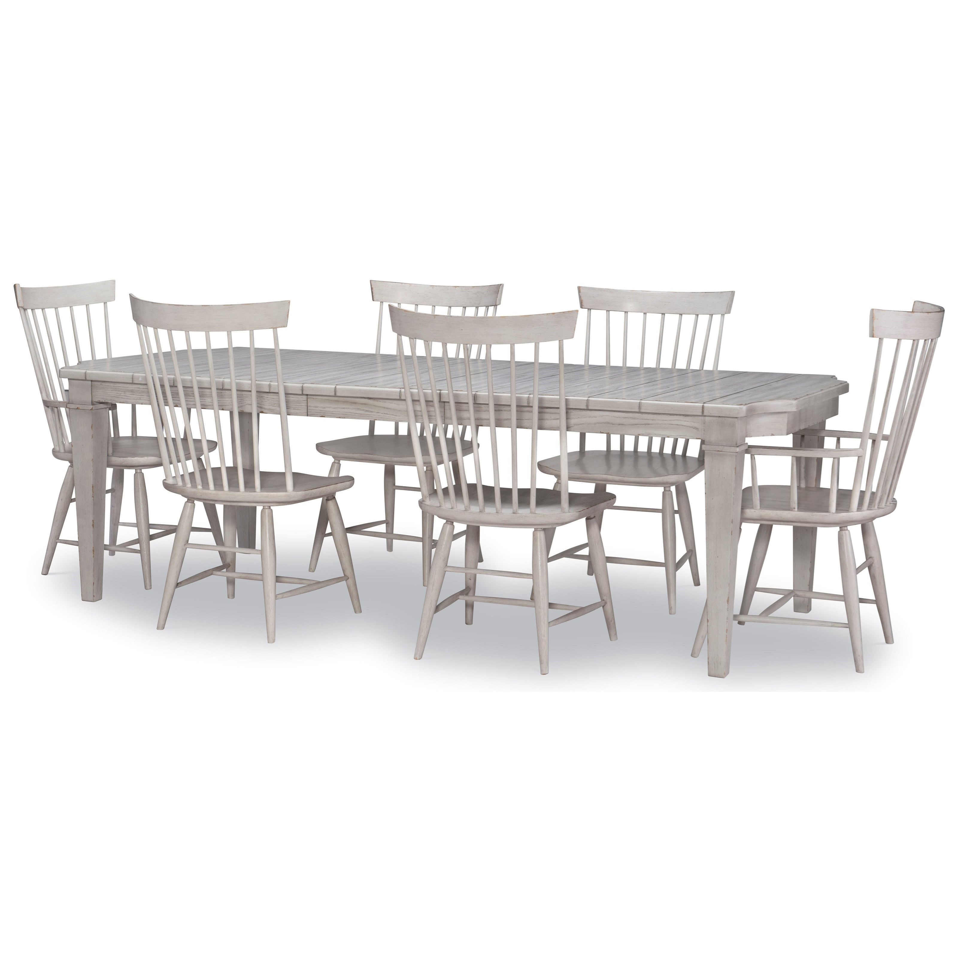 Belhaven 7-Piece Table and Chair Set by Legacy Classic at Stoney Creek Furniture