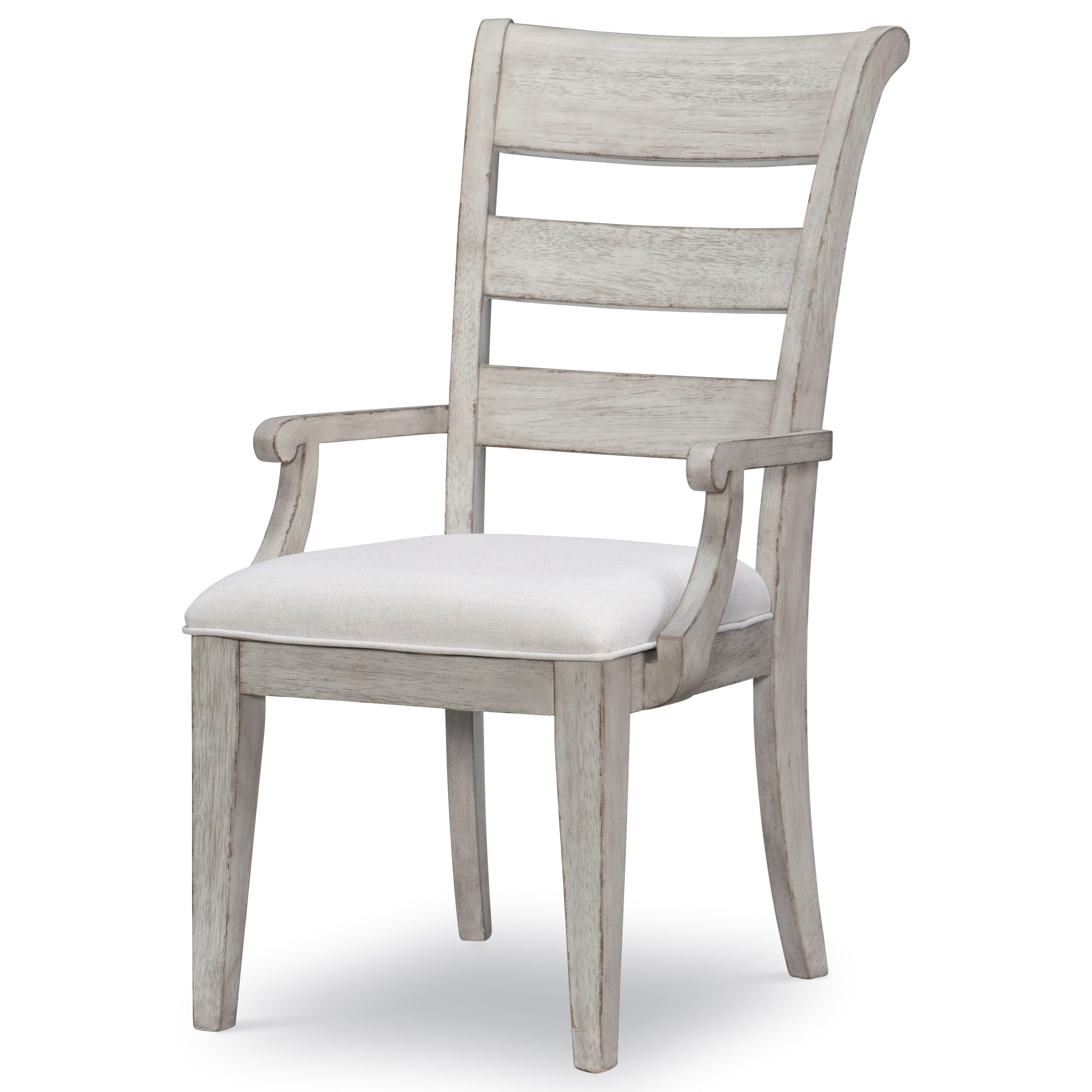 Belhaven Ladder Back Arm Chair by Legacy Classic at Stoney Creek Furniture