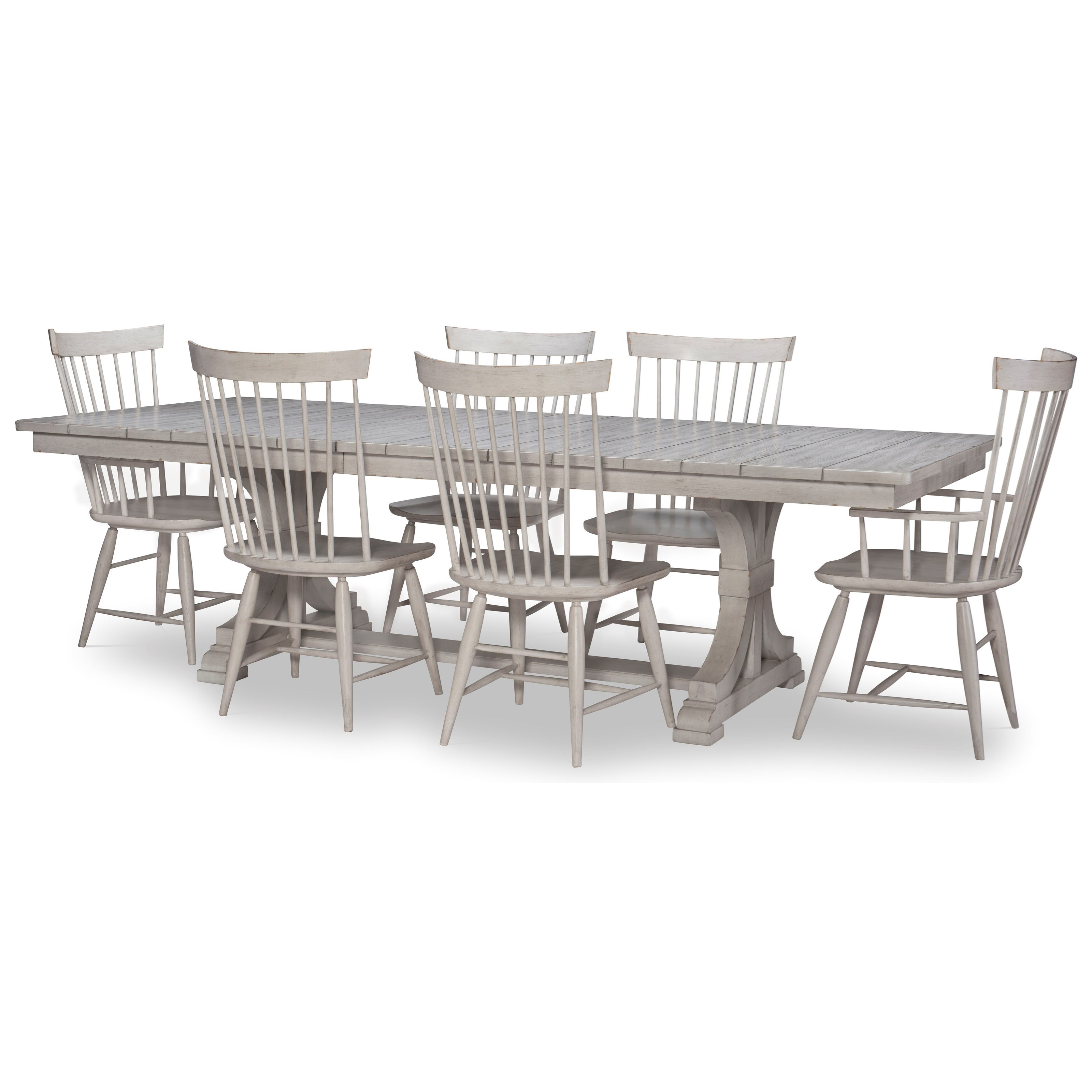 Belhaven 7-Piece Table and Chair Set by Legacy Classic at Johnny Janosik