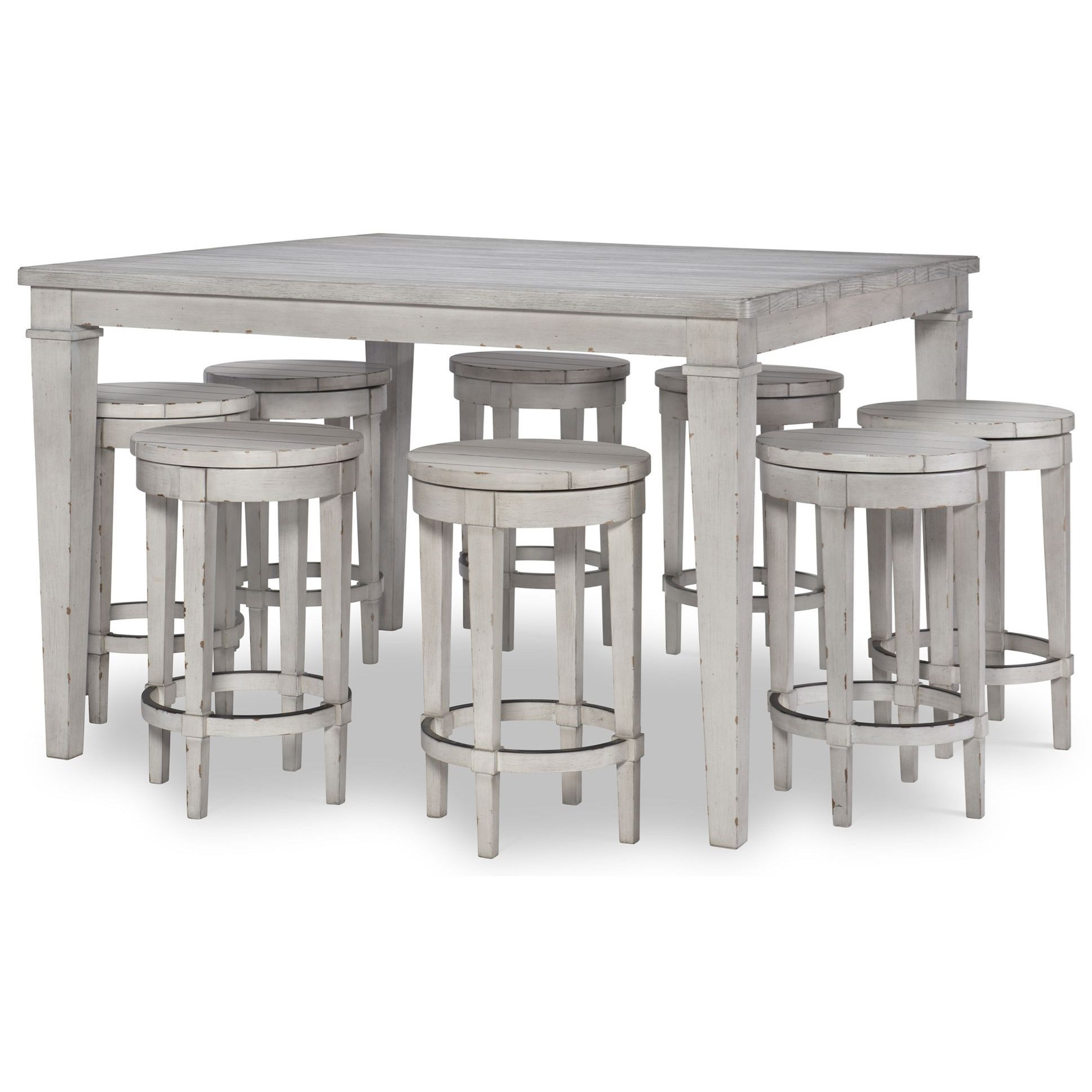 Belhaven 9-Piece Pub Table and Chair Set by Legacy Classic at Stoney Creek Furniture