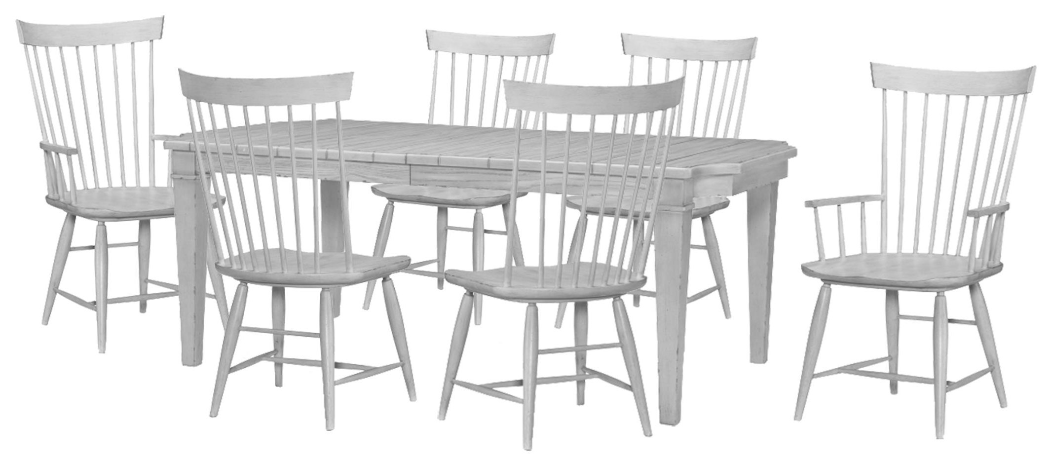 Belhaven Table, Side Chair, Arm Chair by Legacy Classic at Johnny Janosik