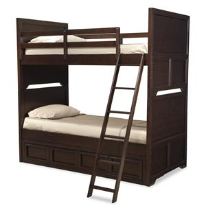 Legacy Classic Kids Benchmark Twin over Twin Bunk Bed with Storage Drawer