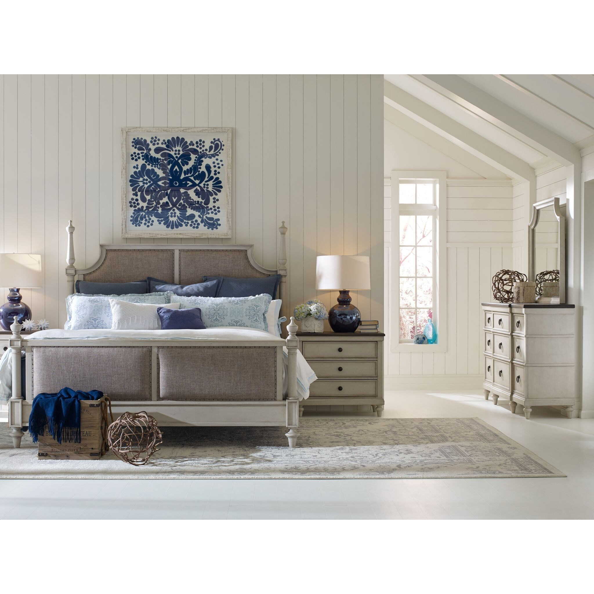 Brookhaven Queen Bedroom Group by Legacy Classic at Stoney Creek Furniture