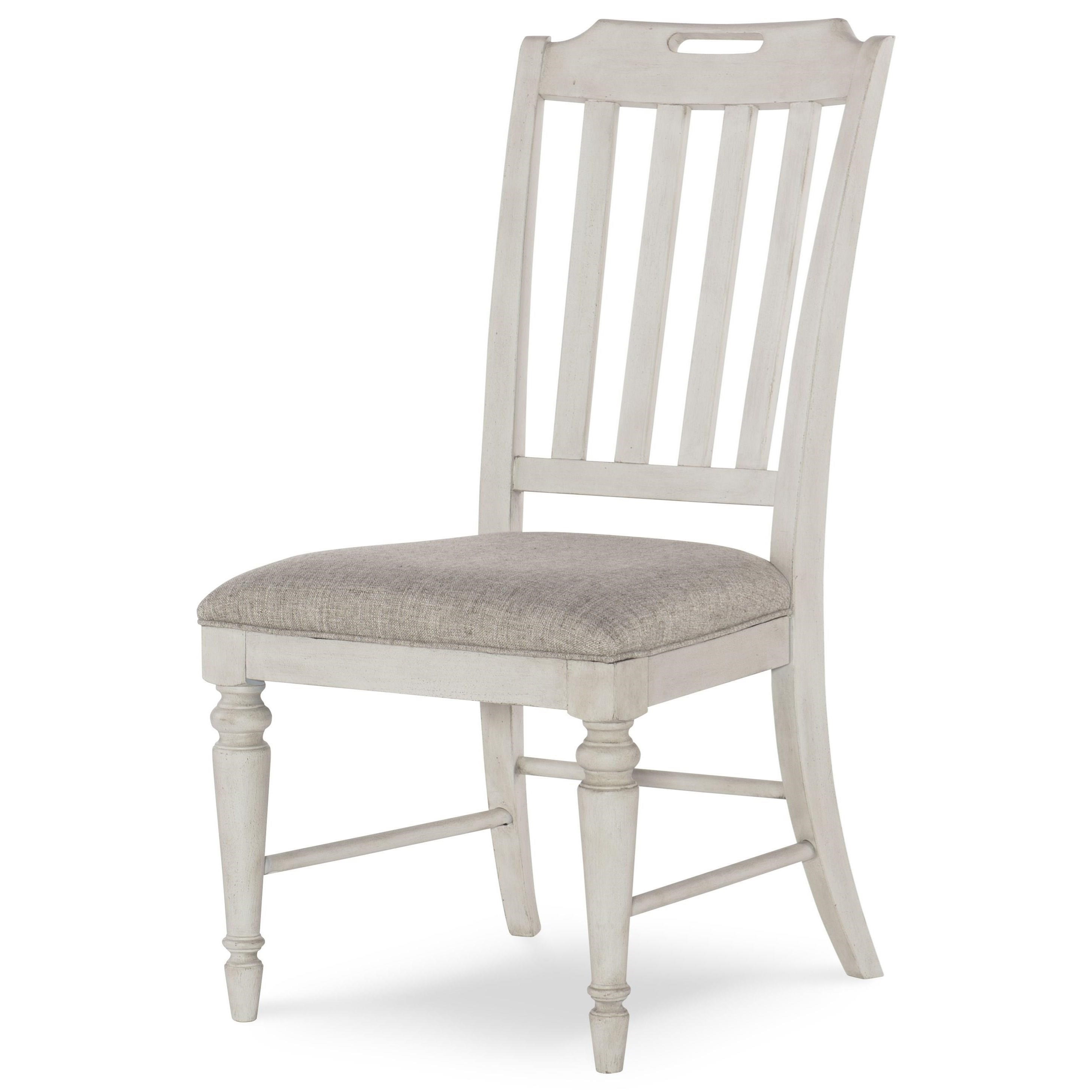 Brookhaven Slat Back Side Chair by Legacy Classic at Johnny Janosik