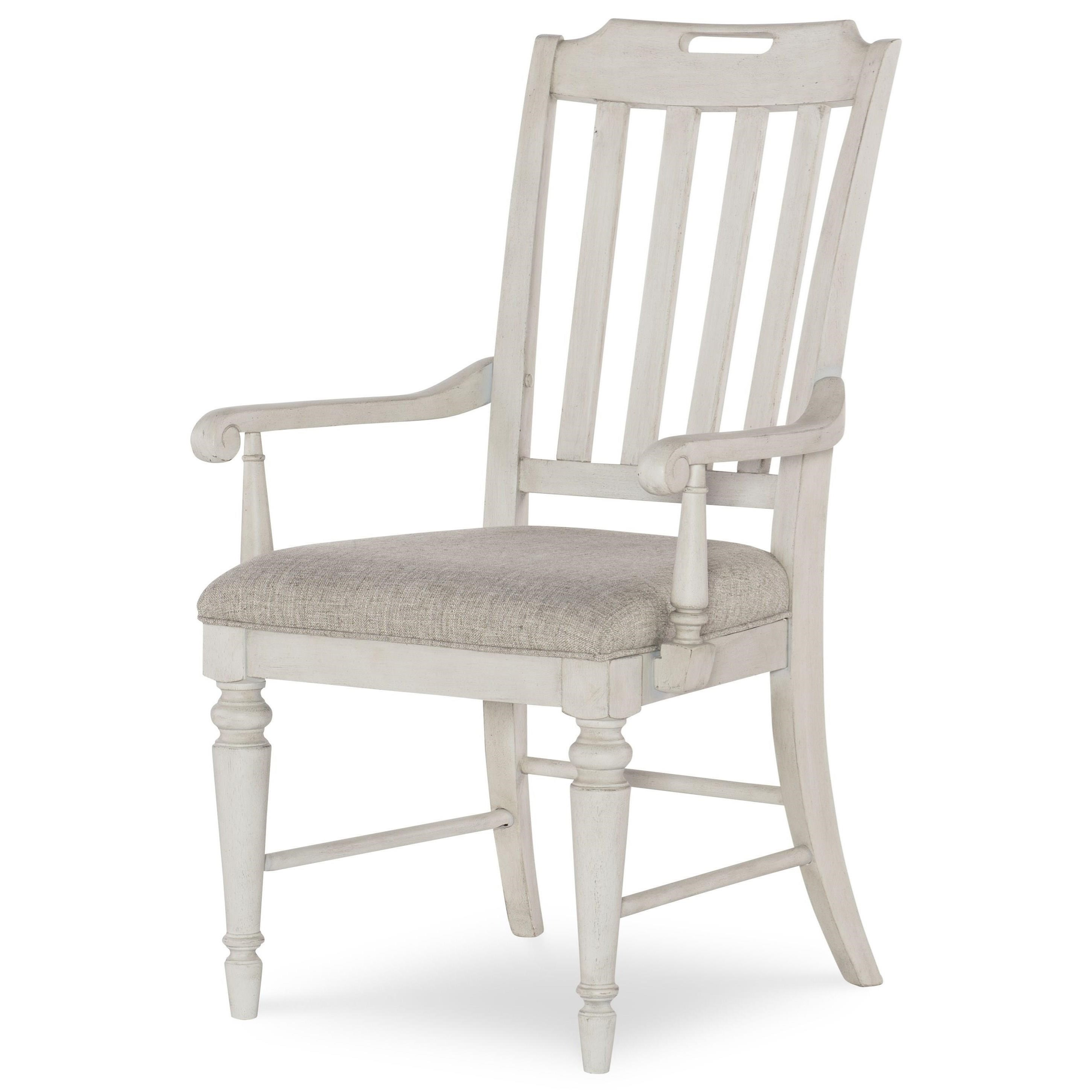 Brookhaven Slat Back Arm Chair by Legacy Classic at Johnny Janosik