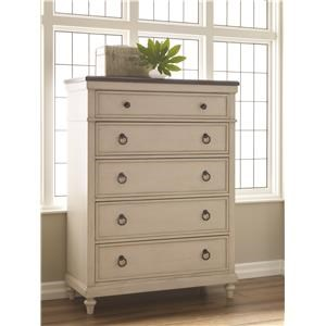Drawer Chest with Five Drawers