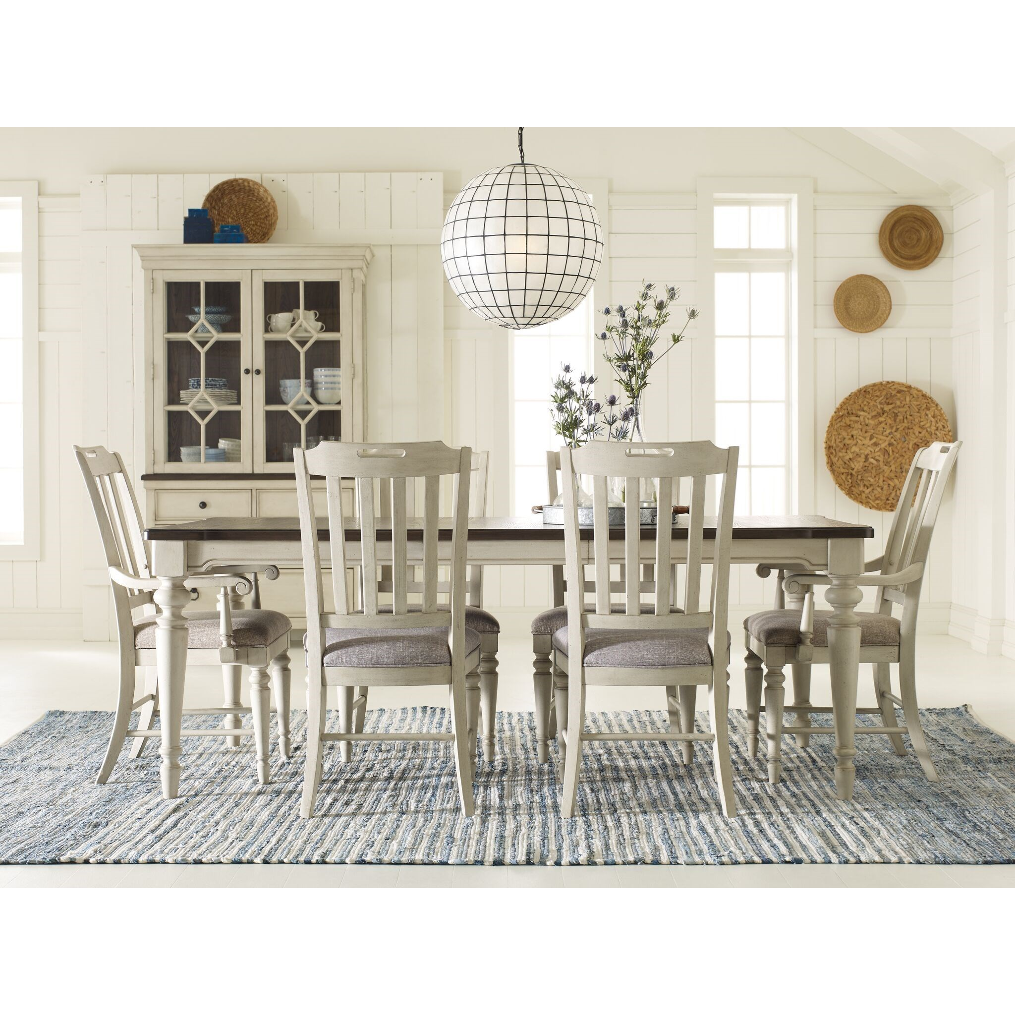 Brookhaven 7 Piece Rectangular Table Set by Legacy Classic at Stoney Creek Furniture