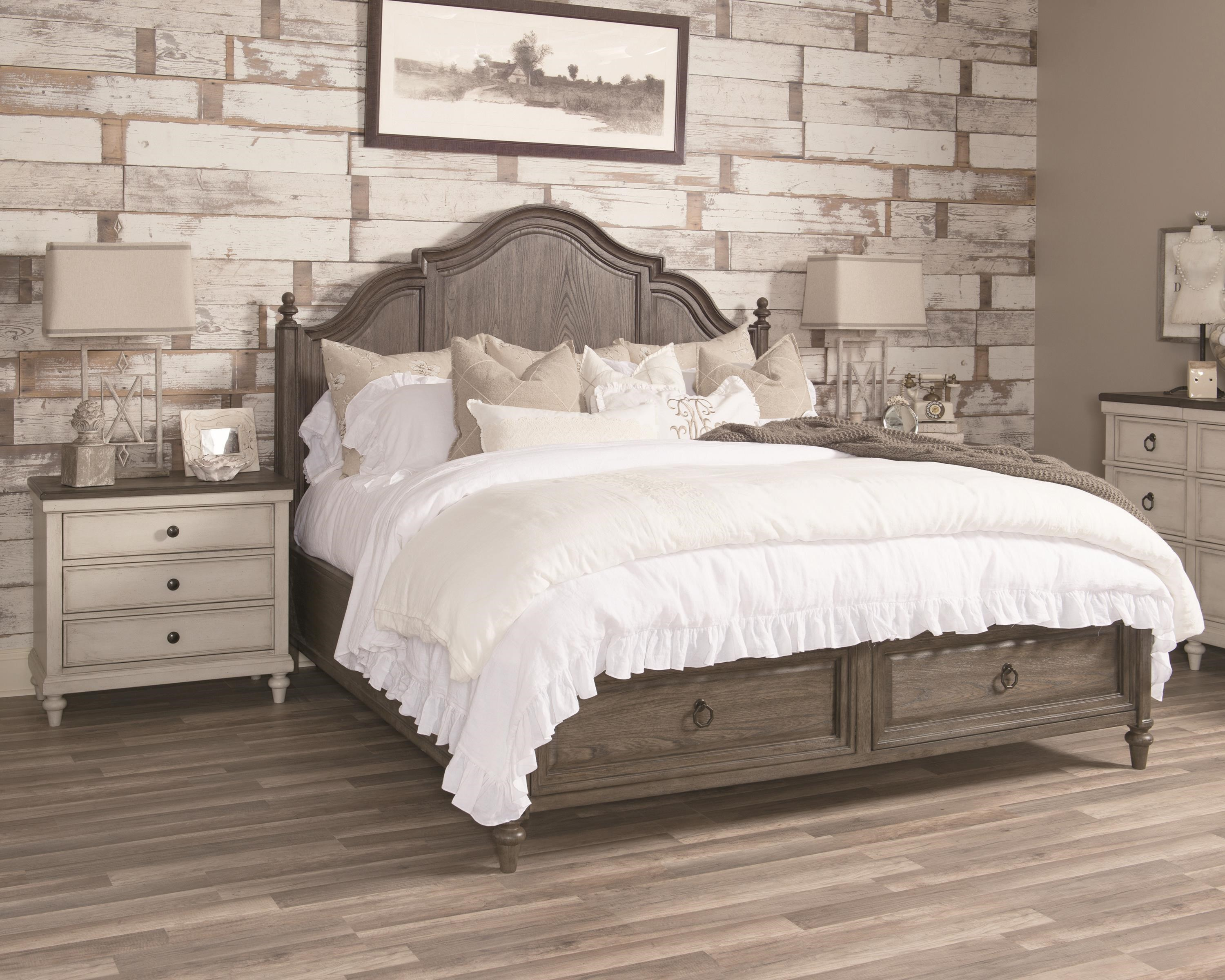 Brookhaven King Panel Storage Bed by Legacy Classic at Johnny Janosik