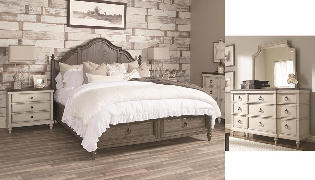 Brookhaven Queen Storage Bedroom Set by Legacy Classic at Johnny Janosik
