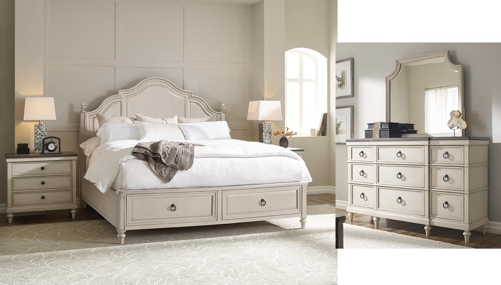 Brookhaven 5 Piece Queen Storage Bedroom by Legacy Classic at Johnny Janosik