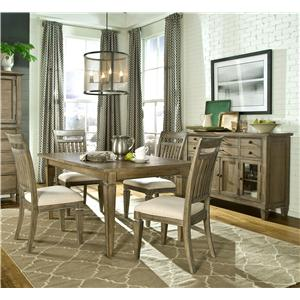 Legacy Classic Brownstone Village Casual Dining Room Group