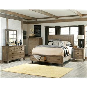Legacy Classic Brownstone Village Cal King Bedroom Group