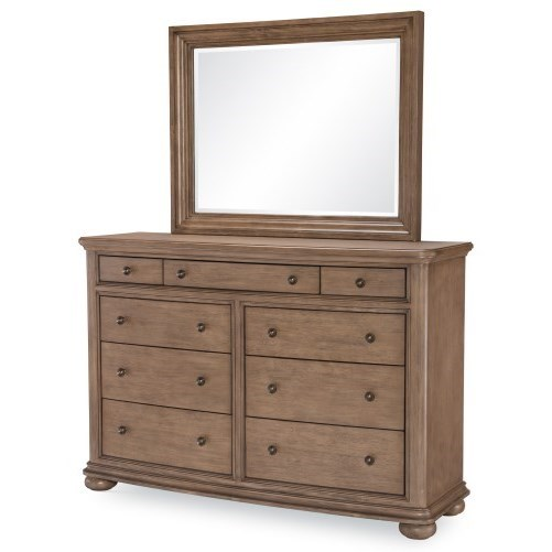 Camden Heights Dresser and Mirror Set by Legacy Classic at Stoney Creek Furniture