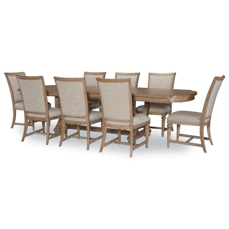 Camden Heights 9-Piece Dining Set by Legacy Classic at Stoney Creek Furniture