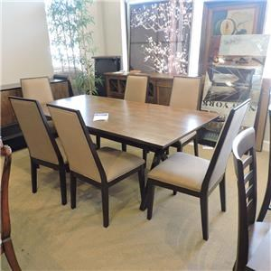 Trestle Table w/ 6 chairs