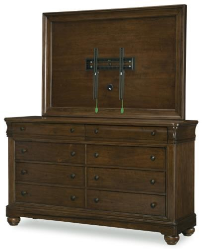 Coventry Dresser and TV Frame Set by Legacy Classic at SuperStore