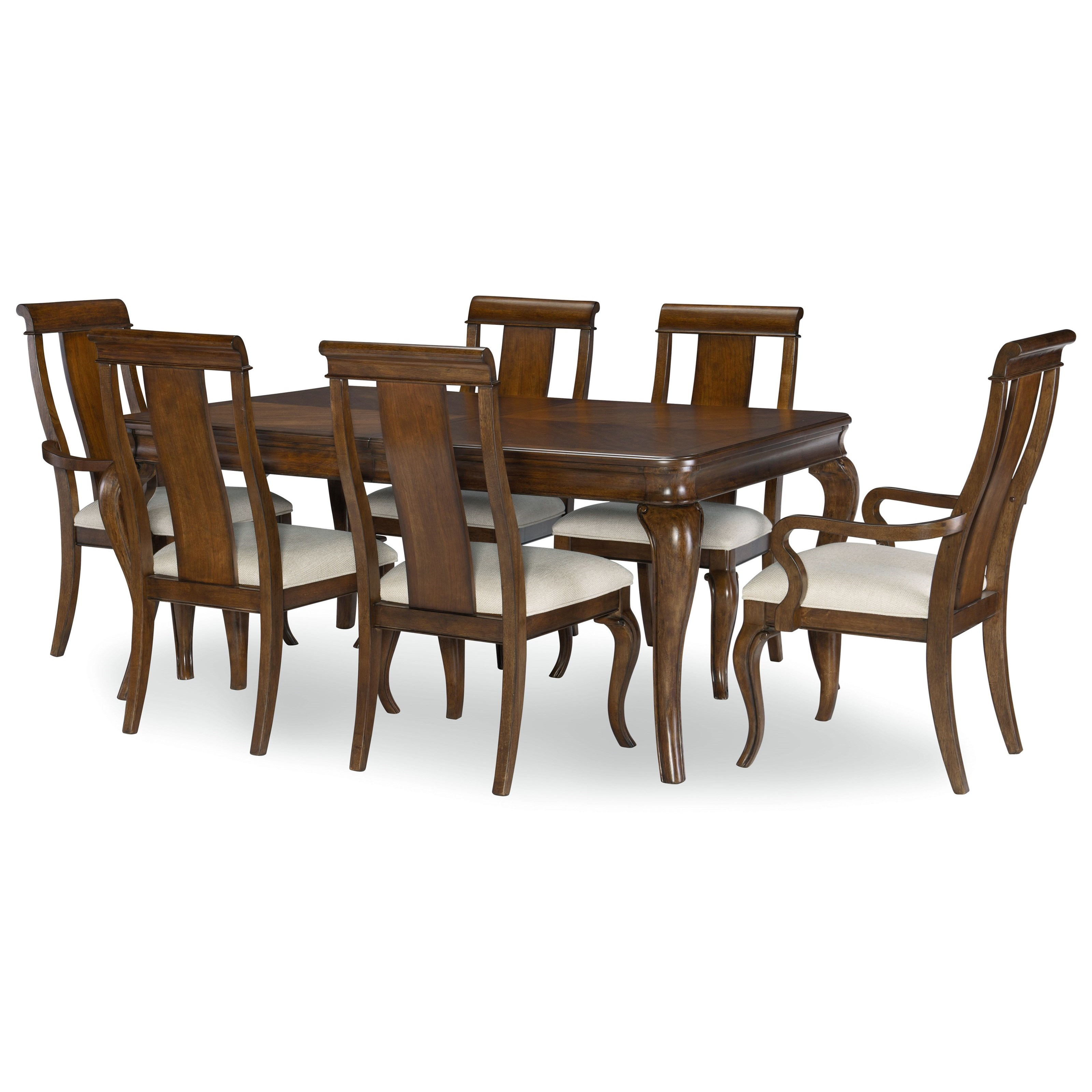 Coventry 7-Piece Table and Chair Set by Legacy Classic at Lindy's Furniture Company