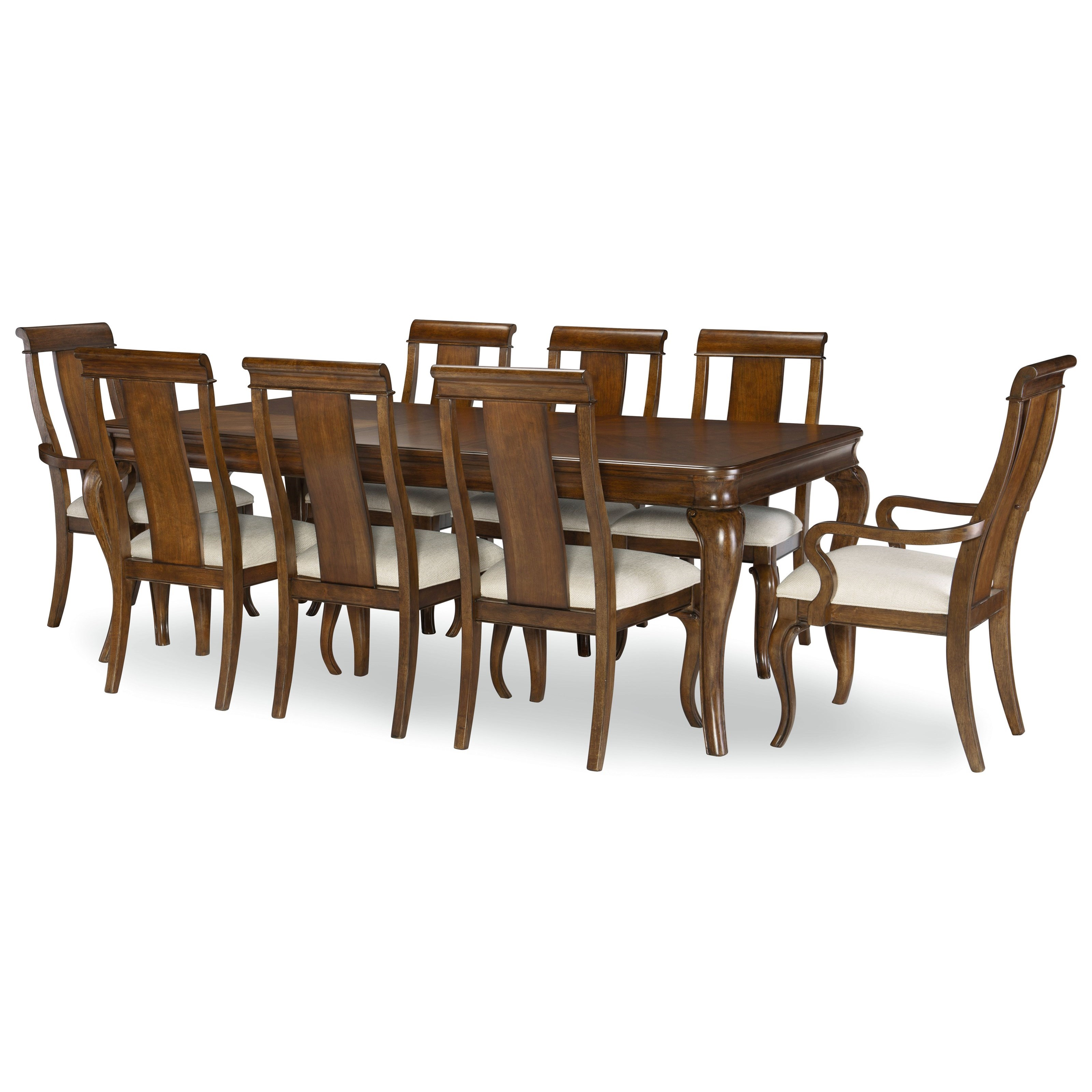 Coventry 9-Piece Table and Chair Set by Legacy Classic at Pilgrim Furniture City