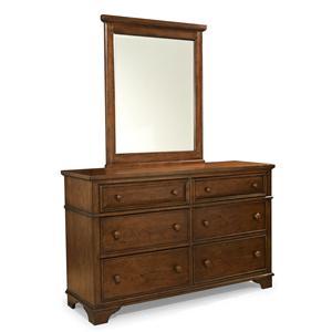 Legacy Classic Kids Dawson's Ridge Dresser and Mirror