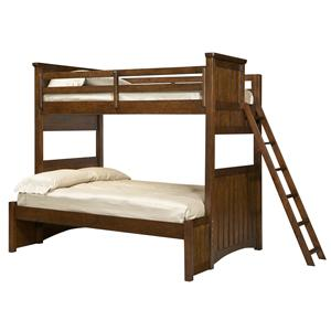 Legacy Classic Kids Dawson's Ridge Twin-over-Full Bunk w/ Ladder